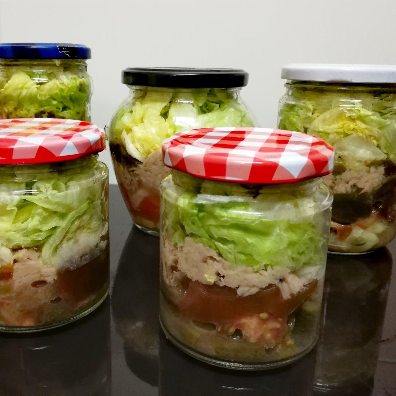 Semana de ensaladas y pimientos asados