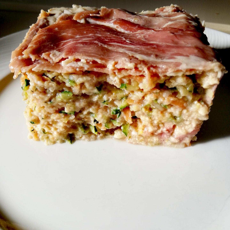 Pastel de carne y jamón