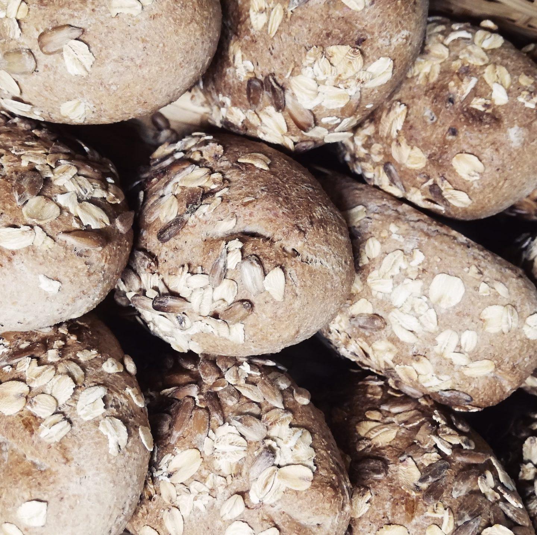 Pan de avena y nueces
