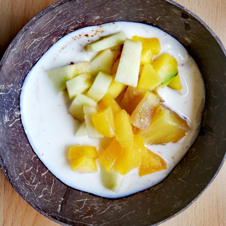 Macedonia de frutas aliñada