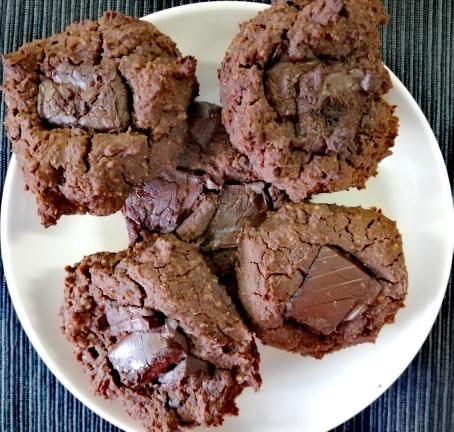 Cookies brownie sin azúcar (receta inspirada en una de Juan Llorca)