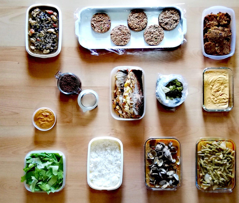 Batch cooking cuarta semana de octubre