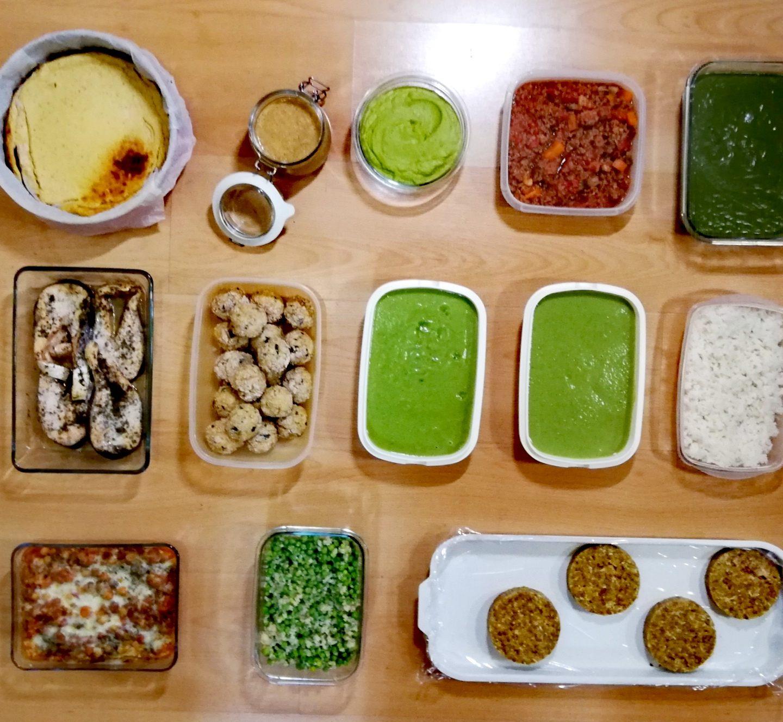 Batch cooking segunda semana de noviembre