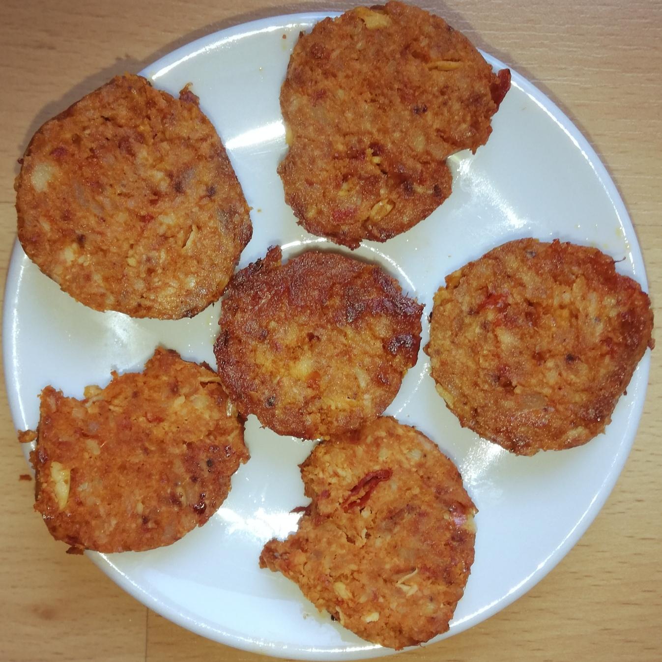 Chorizo casero con carne de pollo
