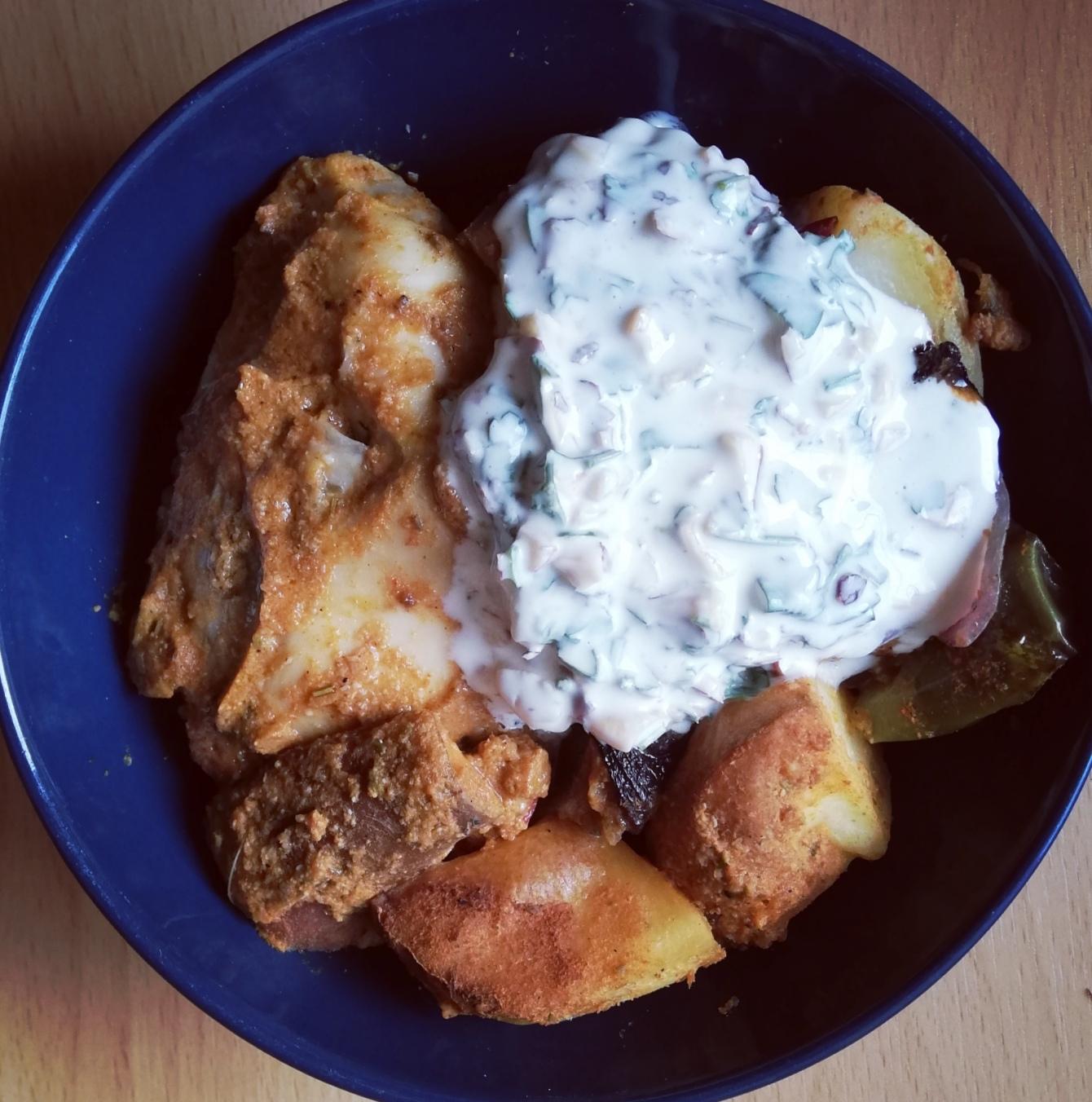 Pollo y chorizo con patatas de Jamie Oliver