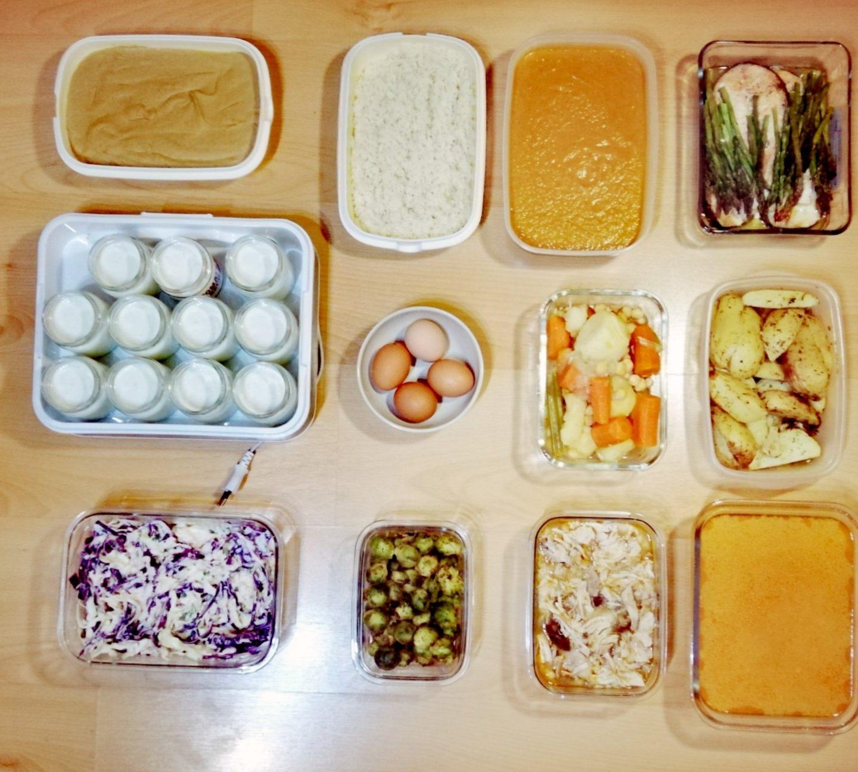 Batch cooking exprés tercera semana de diciembre