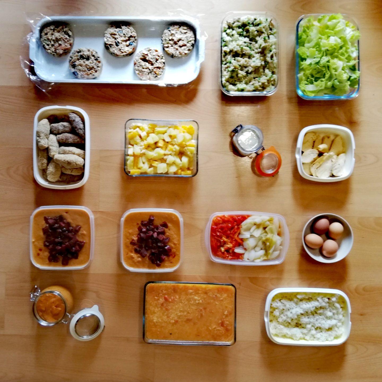 Batch cooking primera semana de marzo