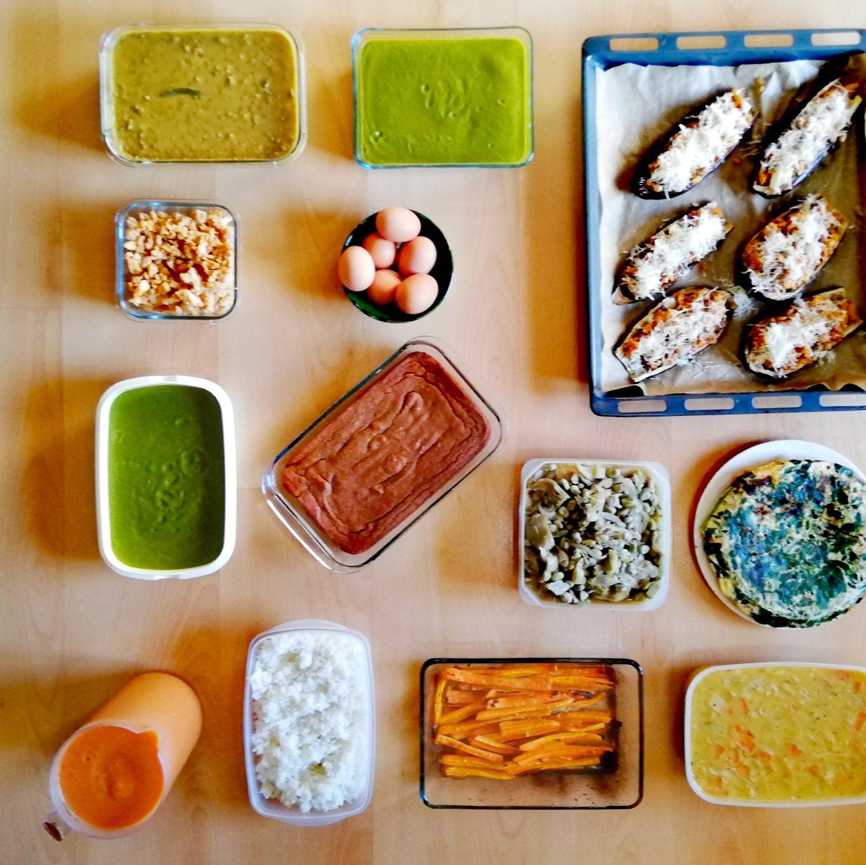 Batch cooking primera semana de mayo