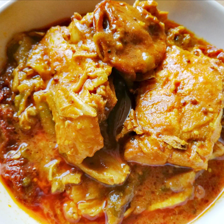 Pollo en salsa de soja con tomates secos