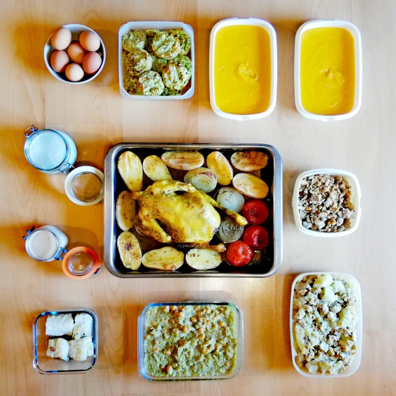 Batch cooking primera semana de octubre