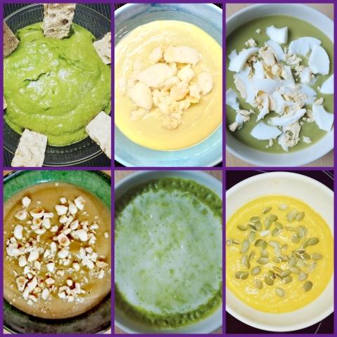 Los mejores toppings para una rica crema de verduras